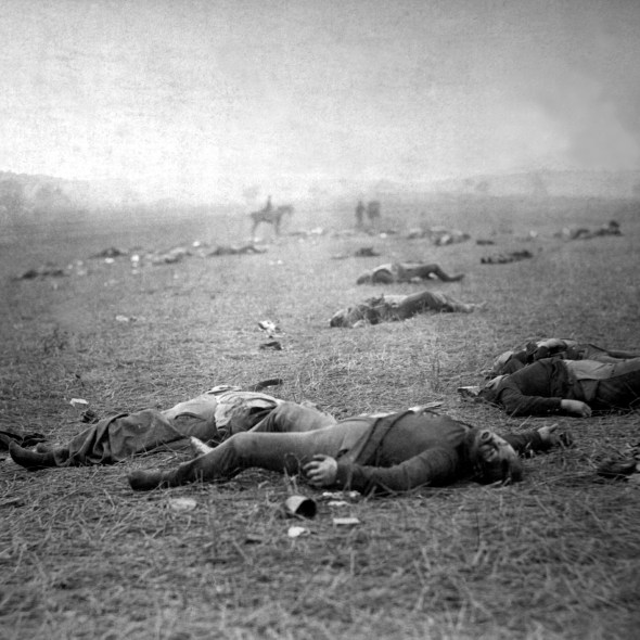 A Harvest of Death, Gettysburg, PA, July 1863