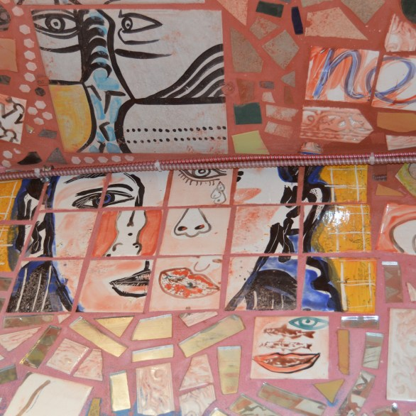 Tiles with body parts
