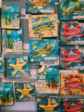 Maryland ocean themed art