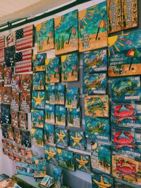 Maryland beach themed art
