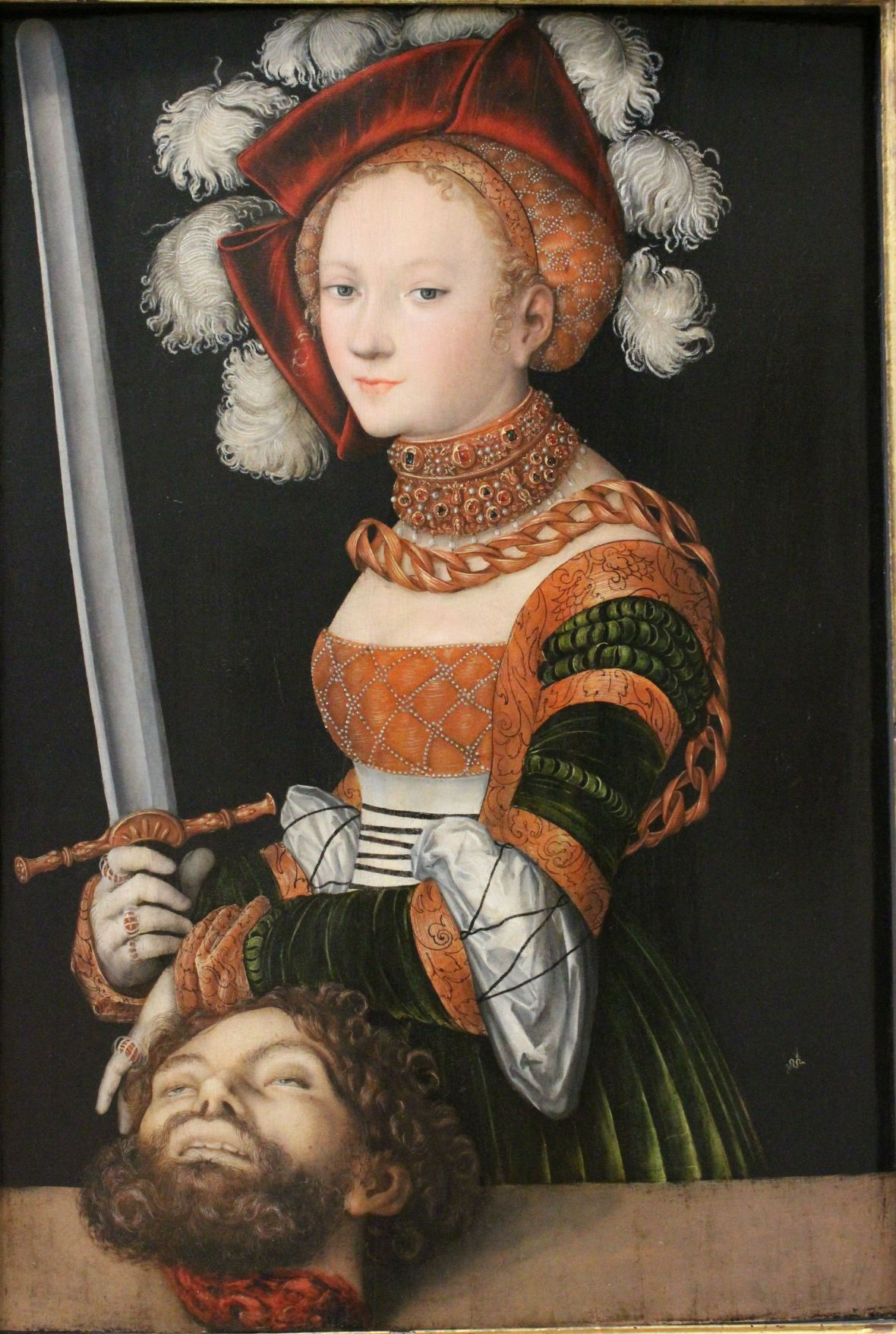 Lucas Cranach the Elder, Judith with the Head of Holofernes, 1530