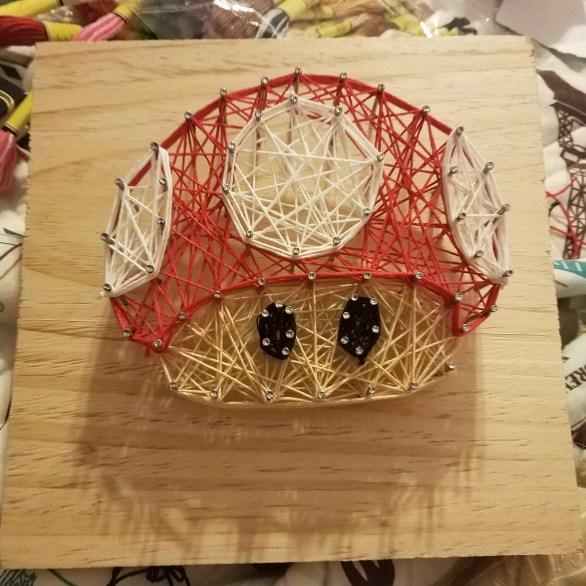 Mushroom String Art