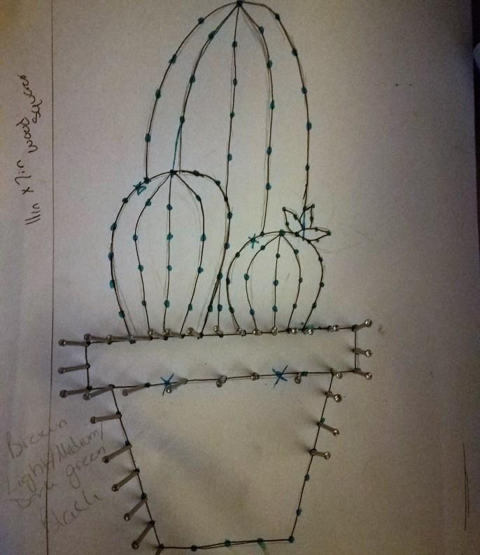 cacti string art