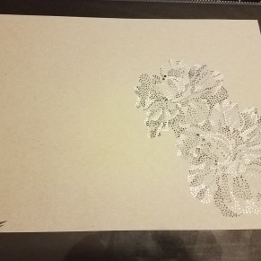 Flower dot work