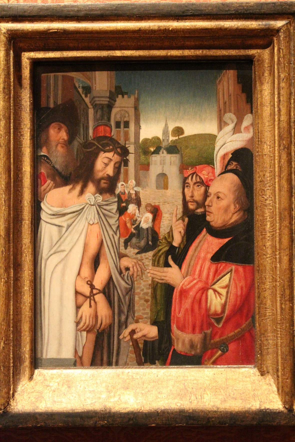 Jan Mostaert, Christ Shown to the People, 1510 -1515