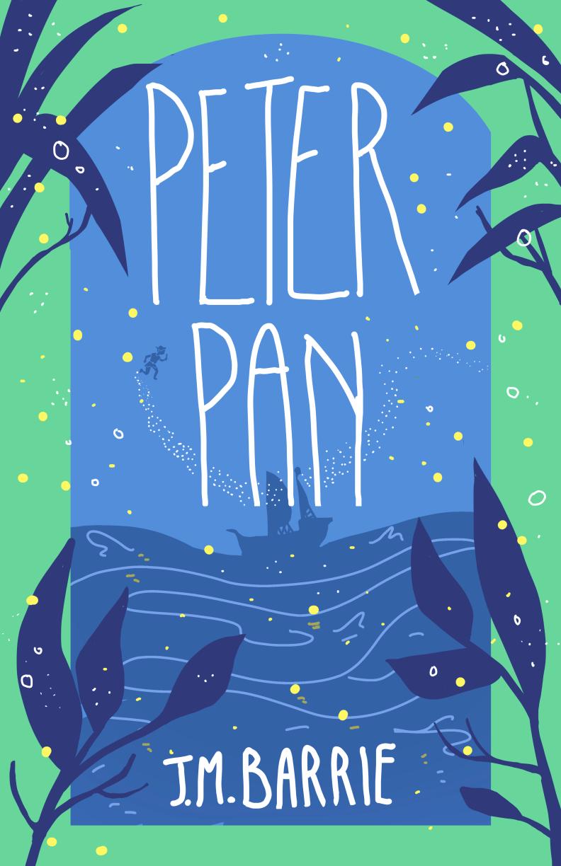 Full peter pan cover design