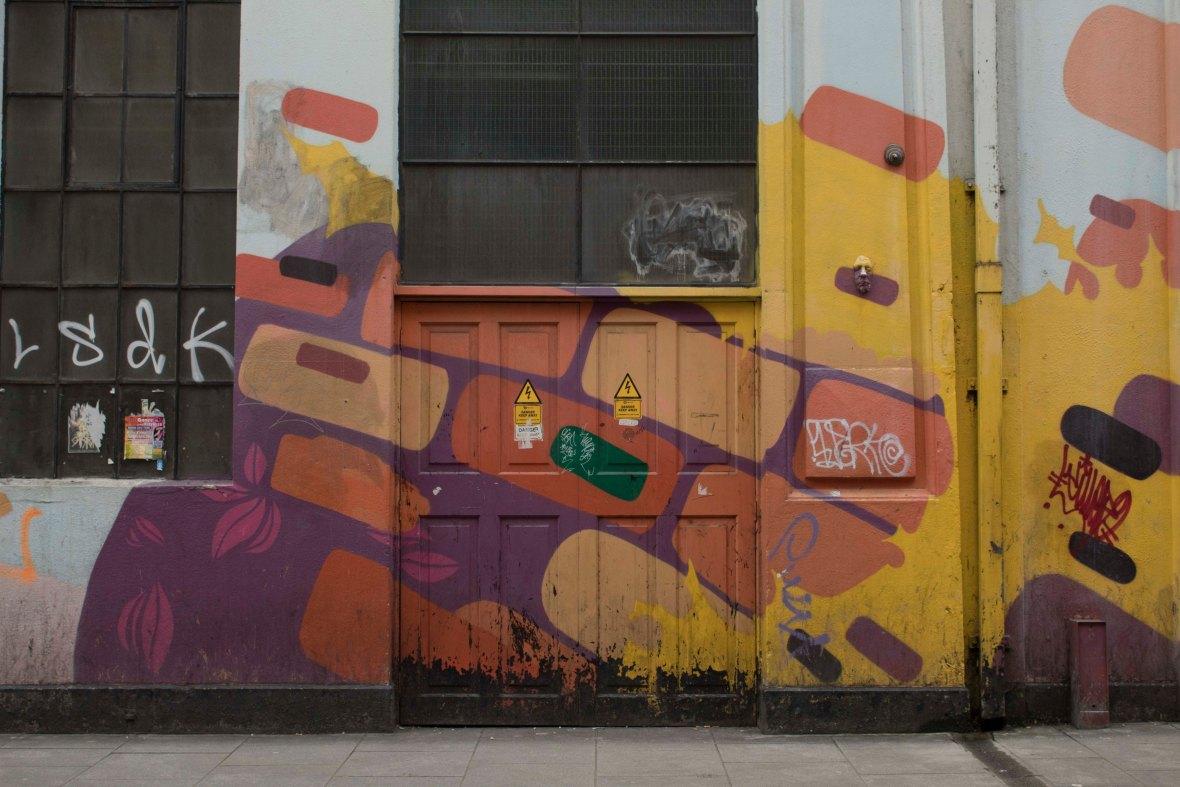 Graffiti Near Temple Bar