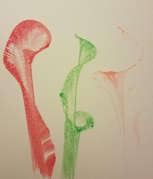 Liquid Color - Green, Red, Orange