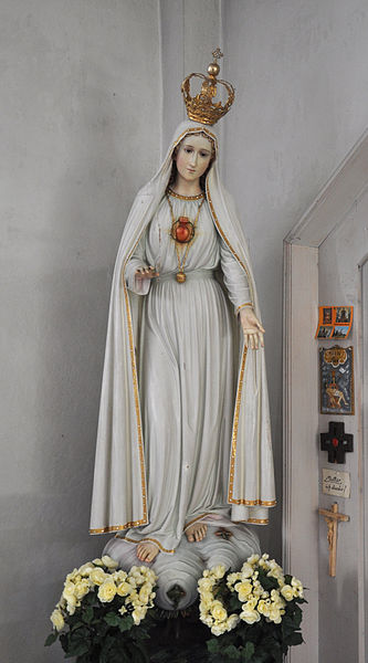 Our Lady of Fatima with the Immaculate Heart