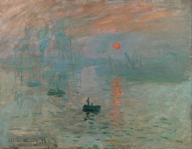 Monet-Impression,Sunrise