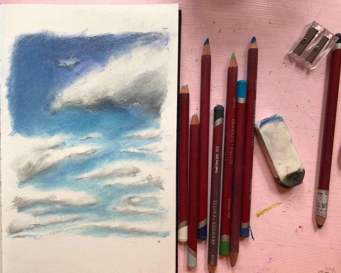 Cloud pastels