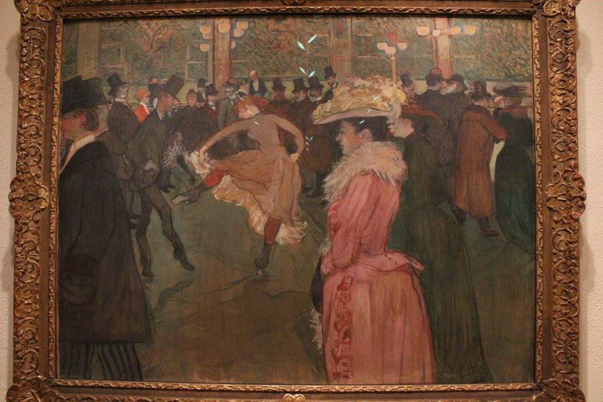 Toulouse-Lautrec, At the Moulin Range, The Dance, 1890