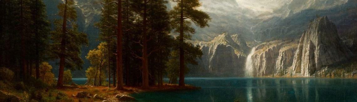 Albert Bierstadt : Sierra Nevada I