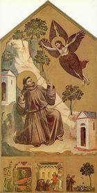 Giotto, St. Francis Receives the Stigmata, 1300