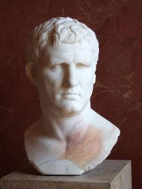 Portrait of Marcus Agrippa. Marble, ca. 25-24 BC