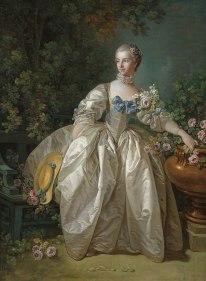 Francois Boucher, Madame Bergeret, 1766