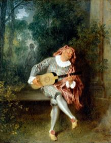 Antoine Watteau, Mezzetino, 1717-19