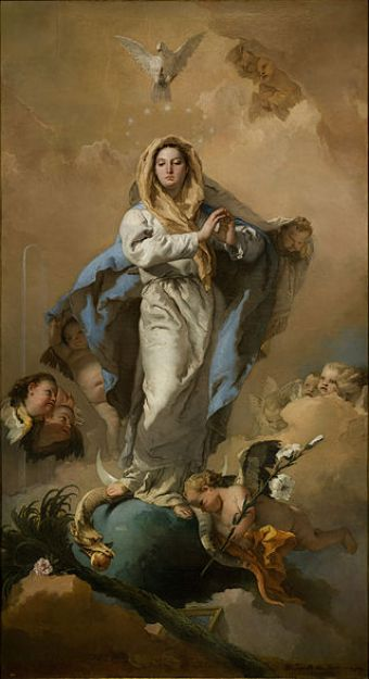 Giovanni Battista Tiepolo, Immaculate Conception, 1767-1768