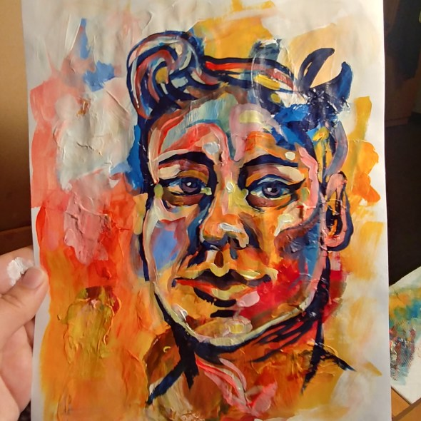 Palette portrait 1