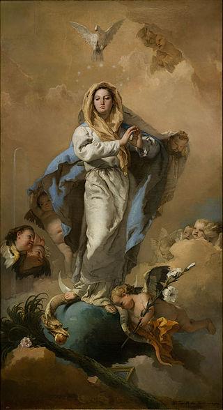 Giovanni Battista Tiepolo, Immaculate Conception, 1767-8