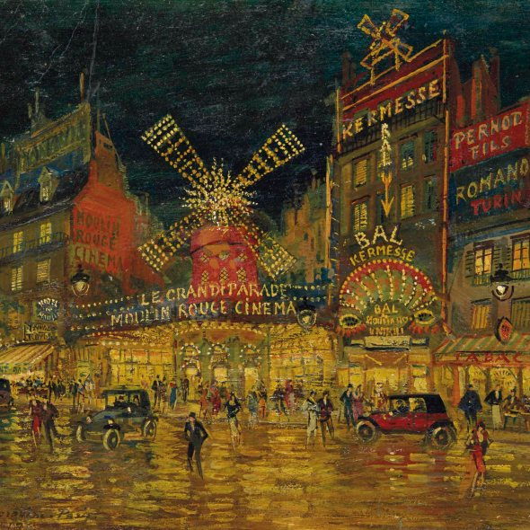 Konstantin Korovin, Moulin Rouge, Paris