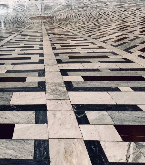 Floors at the Florence Duomo