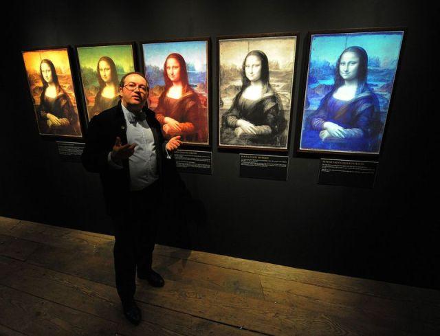 Mona Lisa and Cotte