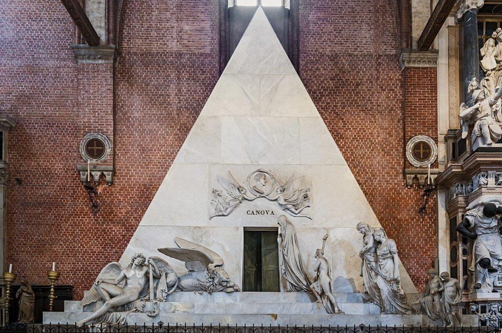 Antonio Canova in Santa Maria Gloriosa dei Frari, Venice