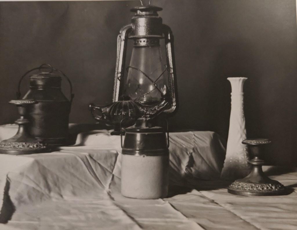 Brianna Pensak- Lamp Still Life