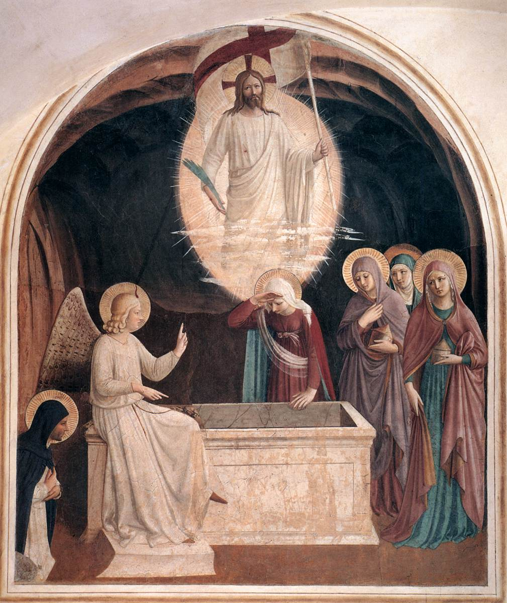Fra Angelico, Christ and the Women at the Tomb, 1440 and 1442.