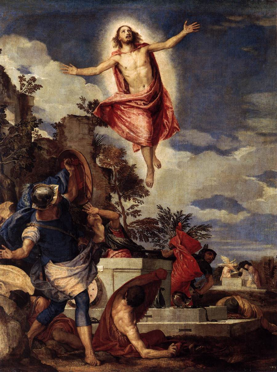Paolo Veronese, The Resurrection of Christ, 1570.