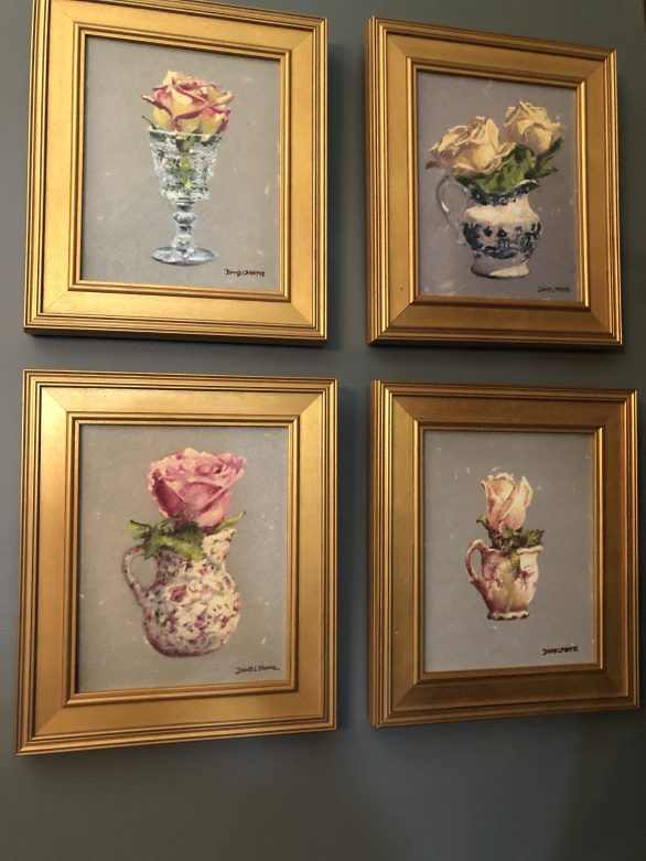 David Frame's Florals in Drinkware