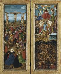 Crucifixion and Last Judgement Diptych
