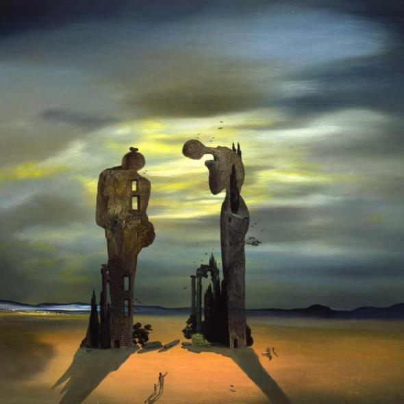 Salvador Dali's Archeological Reminiscence of Millet's Angelus