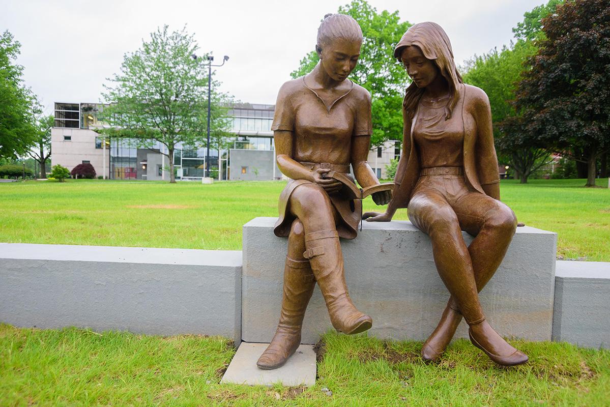 Amphitheatre Statues-female (1)