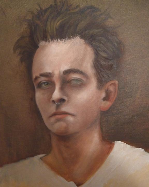 Tumnus Moran Self-Portrait Take 2