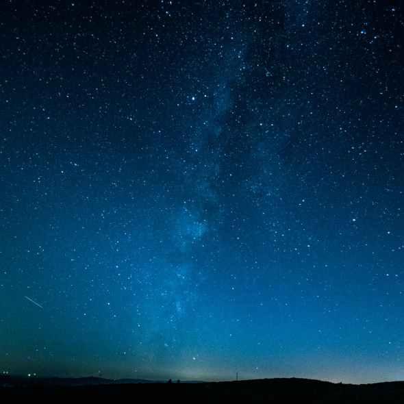 photography of night sky