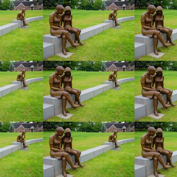 Amphitheatre Statues