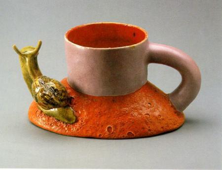 Ken Price Snail Cup 1968