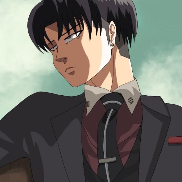 Levi Ackerman in Daisuke's Clothes