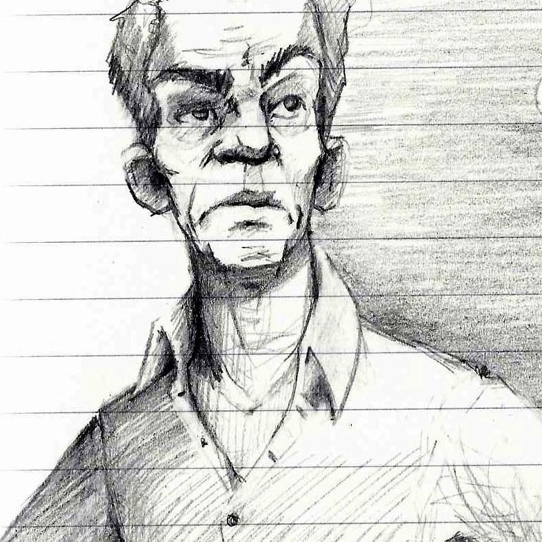 Tumnus Moran Storyboarding Sketches Rust Character 2