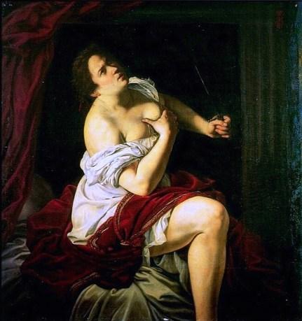 Artemisia Gentileschi, Lucretia, 1623-25