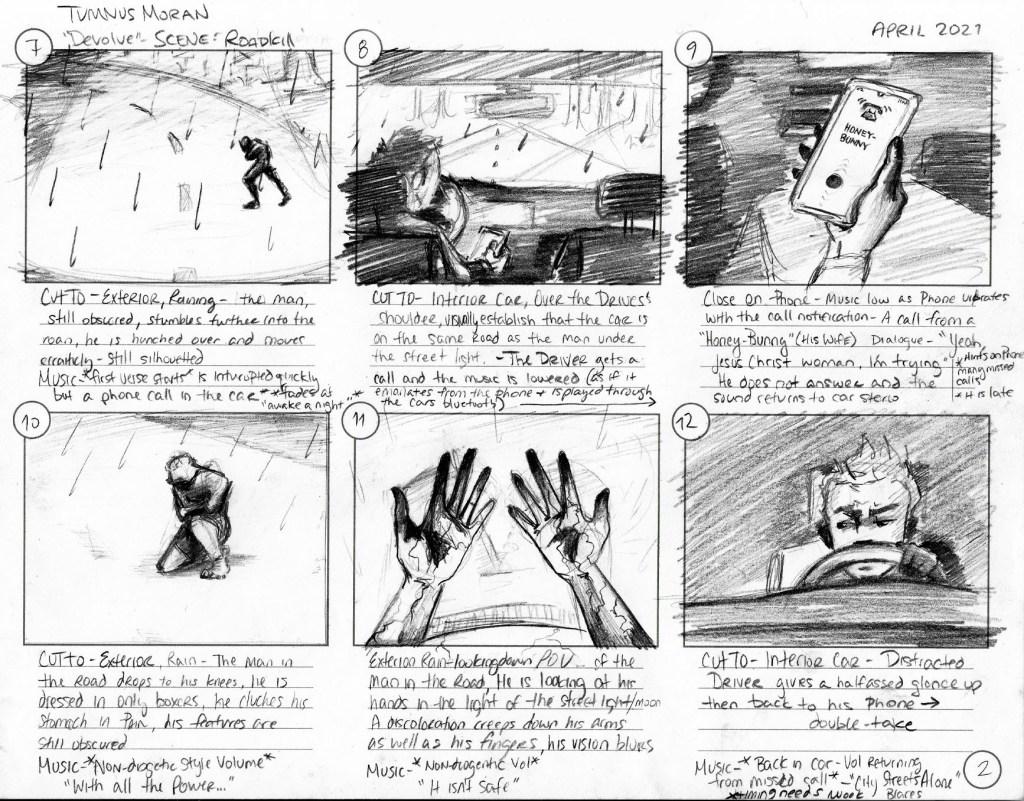 Tumnus Moran Storyboarding Page 2