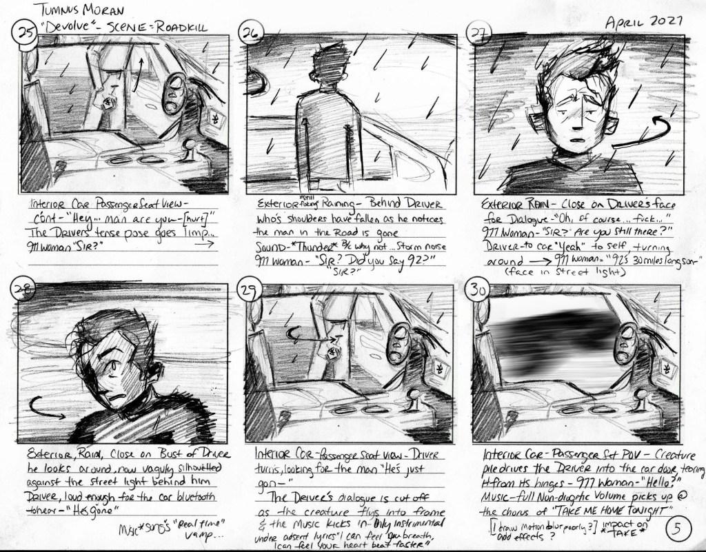 Tumnus Moran Storyboarding Page 5
