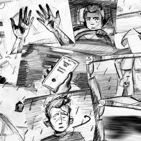Tumnus Moran Storyboarding Progress Featured