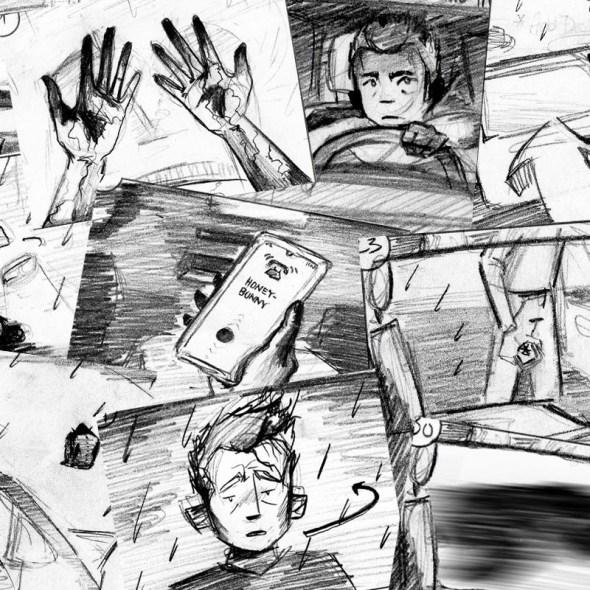 Tumnus Moran Storyboarding Progress Featured