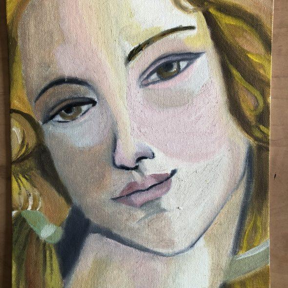 Venus Botticelli Painting