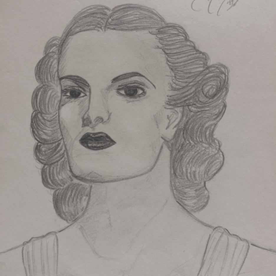 Geraldine Kick Portrait of a Woman