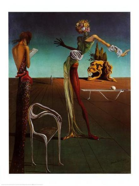 Salvador Dali, Woman with a Head of Roses, 1935
