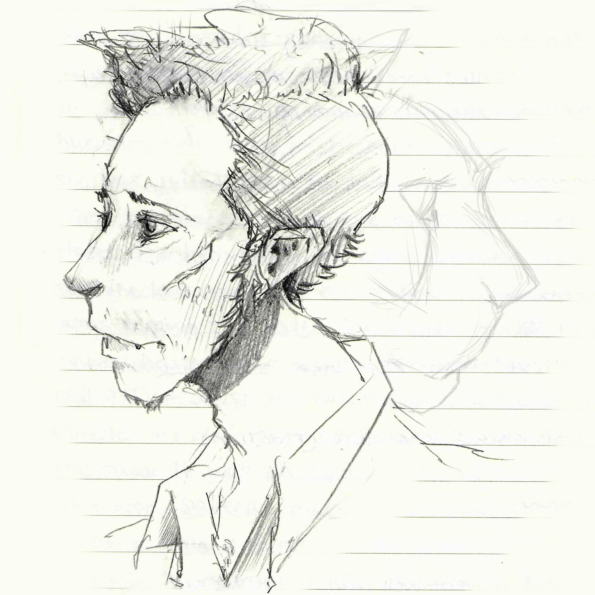 Tumnus Moran Frank Sketch